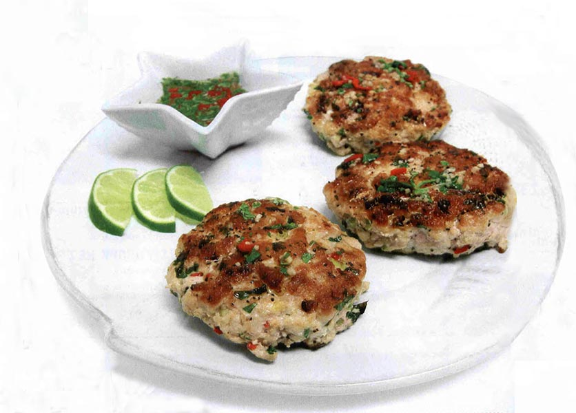 Super Yacht recipe for Thai Tuna Cakes